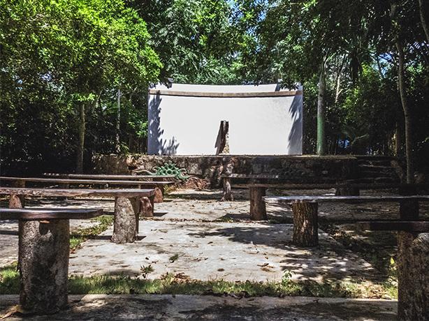 Imagen del área del evento